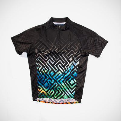 Labrynth Men's Sport Cut Cycling Jersey