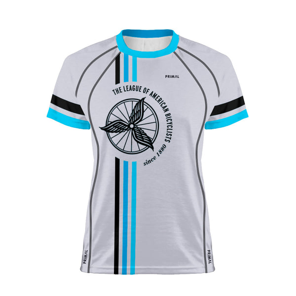 League of American Bicyclists Women's Grey Tech Top