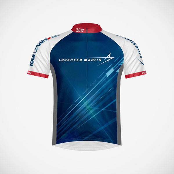 2017 Lockheed Martin Men's Cycling Jersey - XSmall Only
