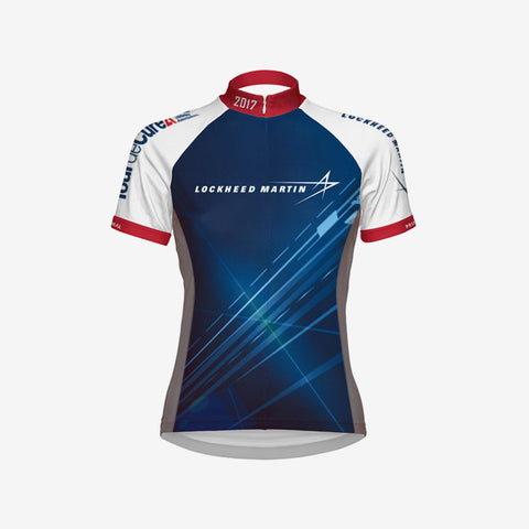 2017 Lockheed Martin Women's Cycling Jersey