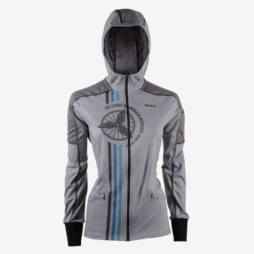 League of American Bicyclists Women's Opus Hoodie - XSmall Only