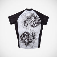 Gray Scale Men's Cycling Jersey