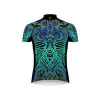 Thorasik Men's Blue Evo Cycling Jersey