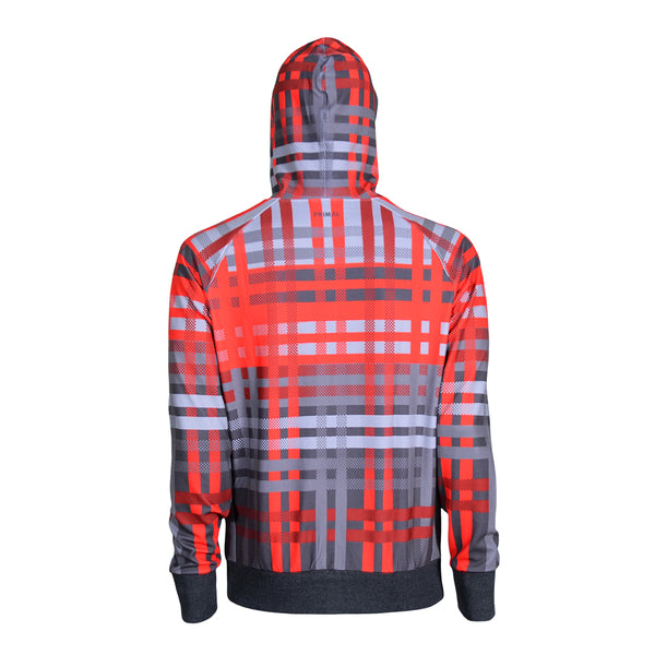 Cameron Men's Tracer Hoodie - Red