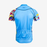 Wild Roads Men's Evo Jersey - Electric Blue