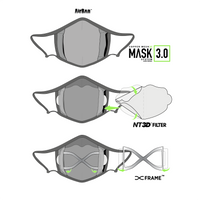White 3.0 Filter + Frame Bundle w/ Neck Strap