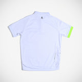 Miles Men's Polo - Frost White