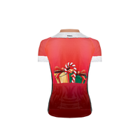 Mrs. Claus Women's Sport Cut Cycling Jersey