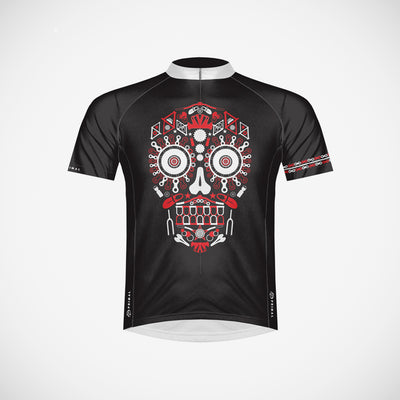 Los Muertos Red Men's Cycling Jersey