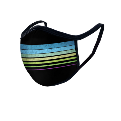 Multi-Color Stripe Mask