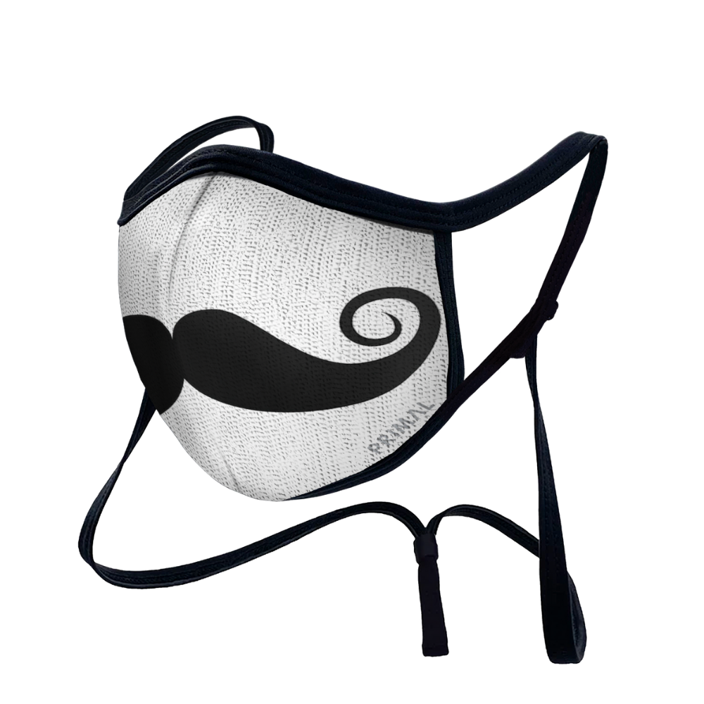 Youth Moustache Face Mask 2.0 Filter + Frame Bundle
