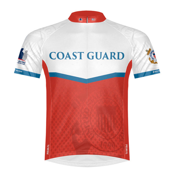 NVA Coast Guard Men's Sport Cycling Jersey