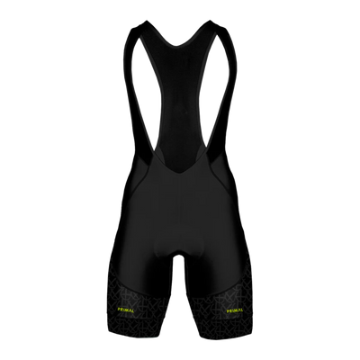 Neon Black Light Men's Equinox QX5 Bibs