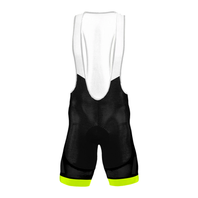 Neon Yellow Men's Evo Bib Short