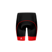Ebony Red Prisma Shorts