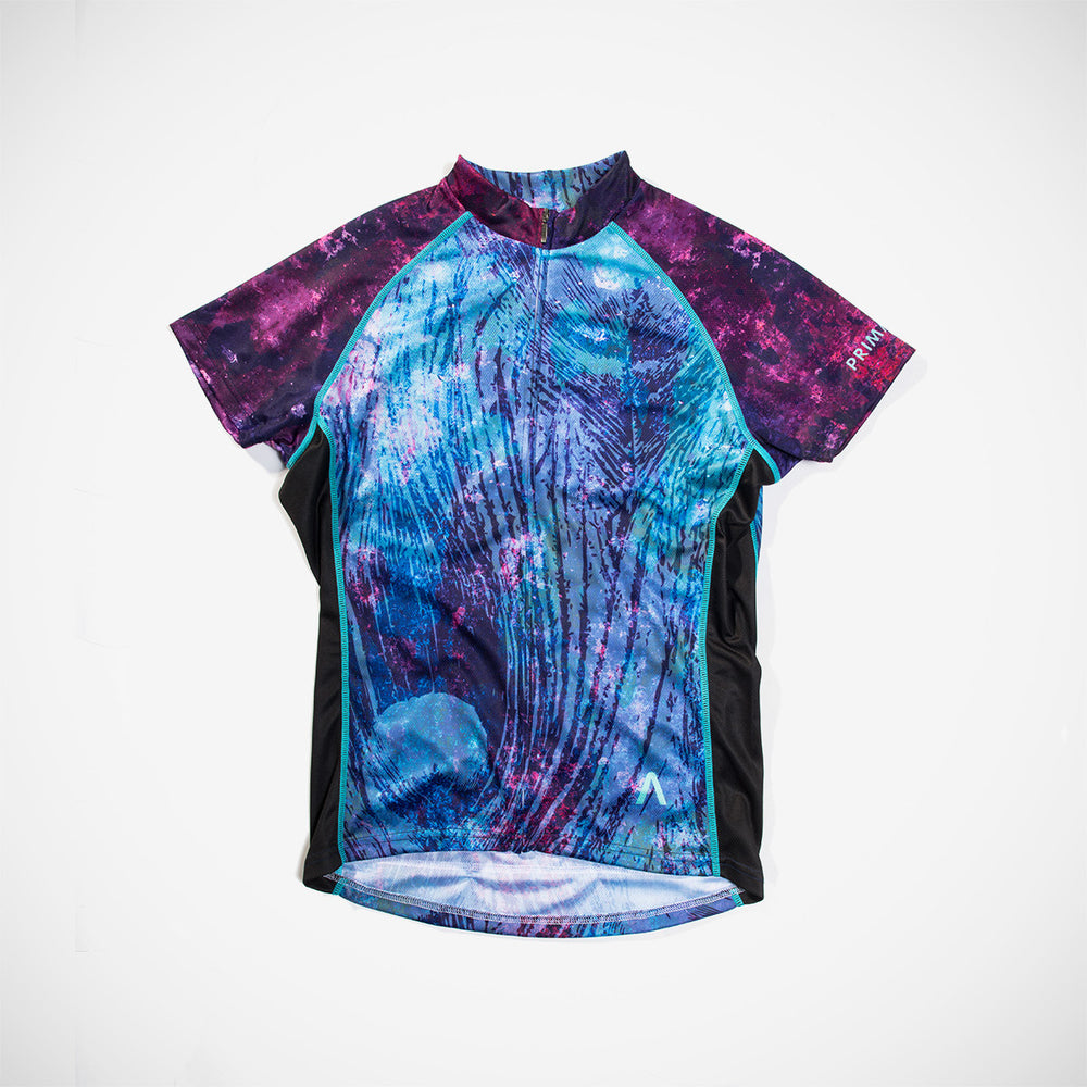 Purple Rain Women's Cycling Jersey - Small Only