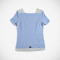 Pearl Women's Boat Neck Shirt - Light Blue