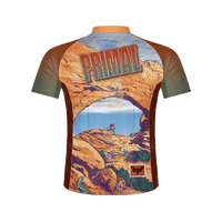 Postcard From the Edge Men's Sport Cut Cycling Jersey