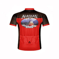 Alaskan Amber Ale Men's Sport Cut Cycling Jersey