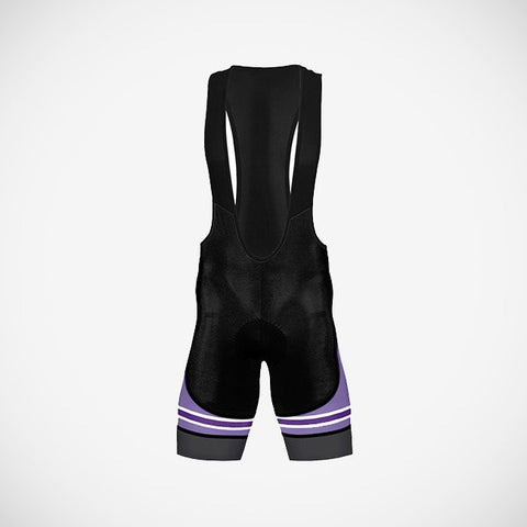 Accento Purple Women's Helix Bib Short