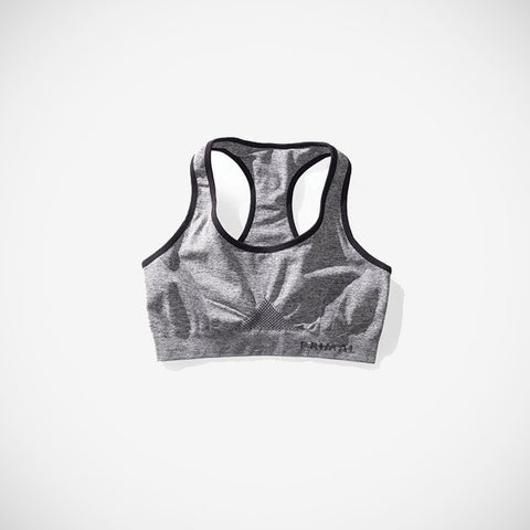 AireSpan Sports Bra Heather Grey
