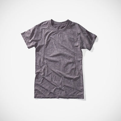 AireSpan Men's Knit Shirt Heather Grey