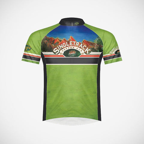 Singletrack Copper Ale Men's Cycling Jersey - Small Only