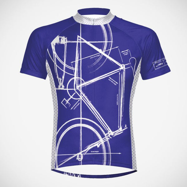 Bike Print Cycling Jersey