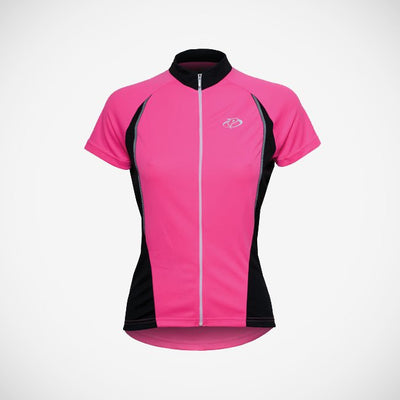 V1 Women's HiViz Sport Cut Cycling Jersey - XSmall Only