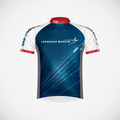 2016 Lockheed Martin Men's Cycling Jersey - Small Only