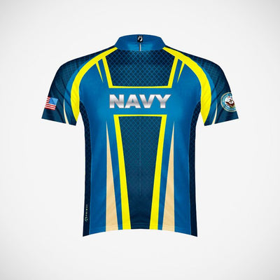 U.S. Navy Team Issue Men's Sport Cut Cycling Jersey (3QZ) - Small Only