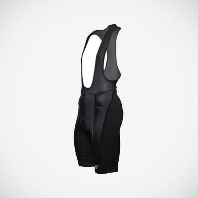 Men's Black Prisma Bib Short
