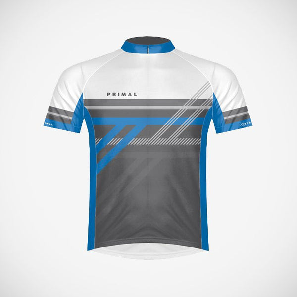 Reverb Blue Men's Cycling Jersey