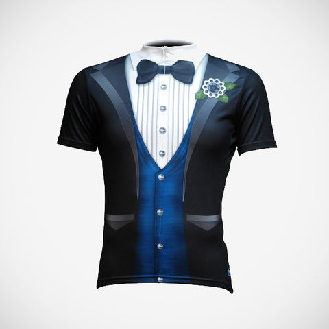 The Ritz Blue Men's Cycling Jersey (3QZ)
