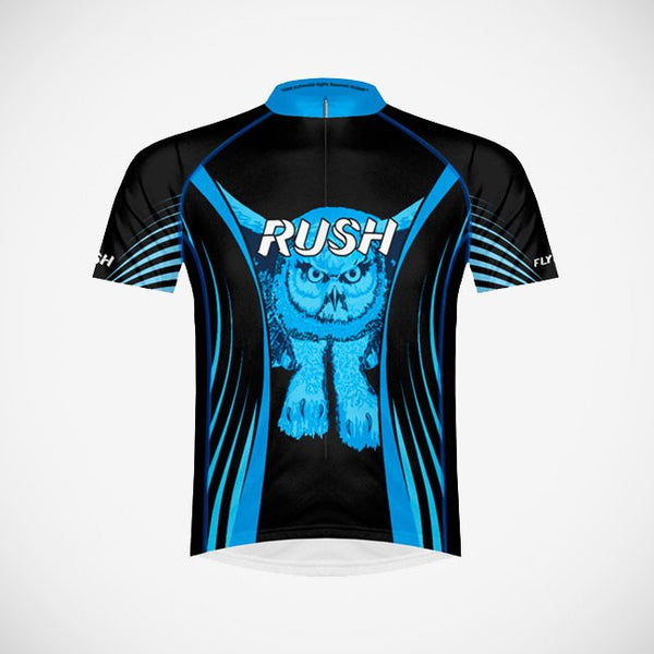 Rush Fly by Night Men's Sport Cut Cycling Jersey (3QZ) - Small Only