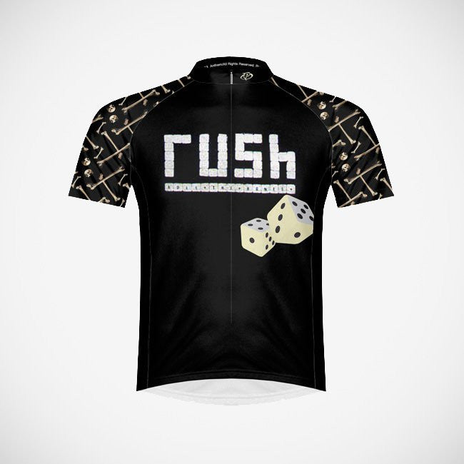 Rush Roll the Bones Men's Sport Cut Cycling Jersey - Small Only