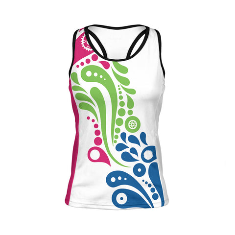Swirly Cue Women's Gemini Tank