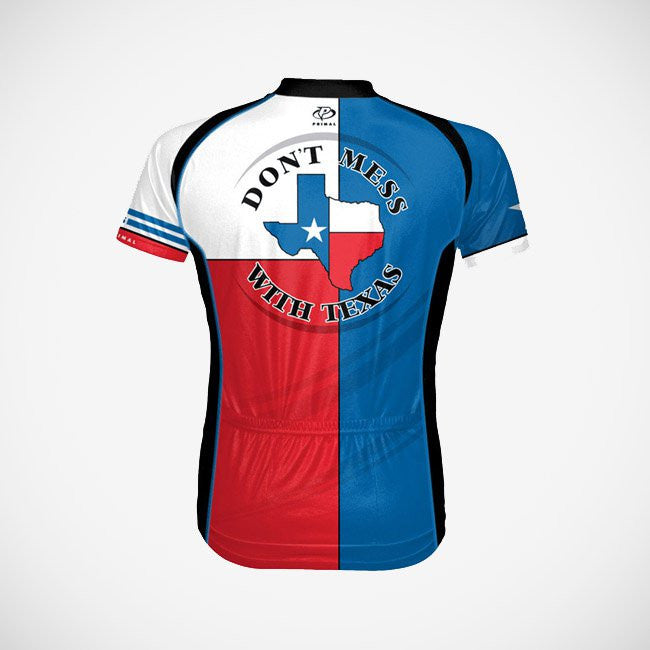 quality design 173f5 2a667 Texas Men's Sport Cut Cycling Jersey