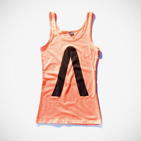 Turn It Up Women's Tank Orange