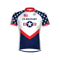 US Military Team Men's Cycling Jersey - Size SM Only
