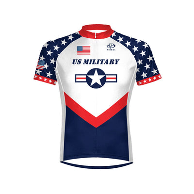 US Military Team Men s Cycling Jersey - Size SM Only 6c7634e85