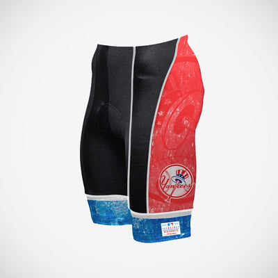 New York Yankees Vintage Men's Prisma Cycling Shorts