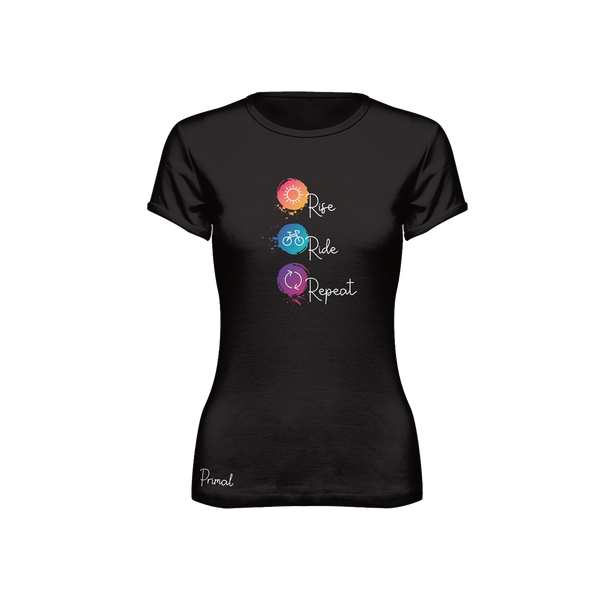 Rise Ride Repeat Women's T-Shirt