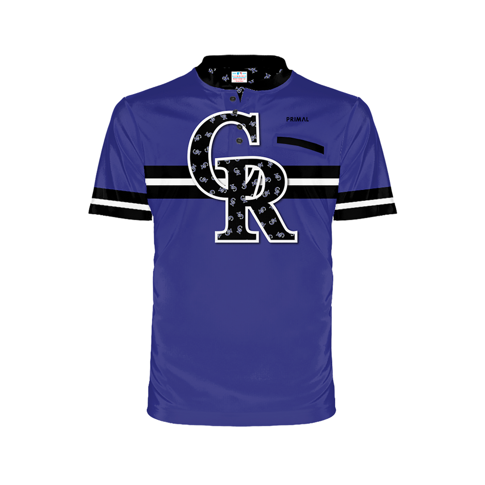 Colorado Rockies Men's Henley
