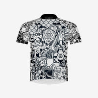 Color It Up Men's Cycling Jersey - With 6 Markers