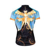 Doyenne Steampunk Butterfly Women's Sport Cut Cycling Jersey