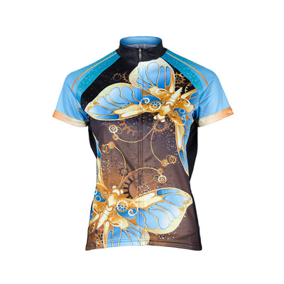 Doyenne Steampunk Butterfly Women's Cycling Jersey