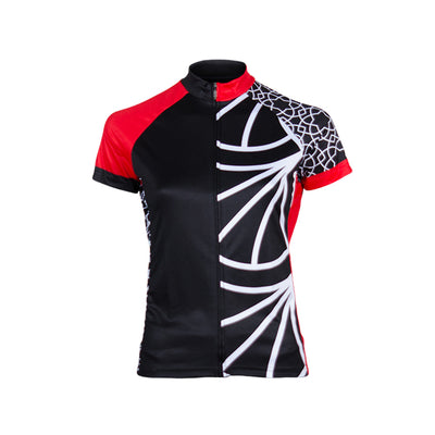 Doyenne Tomomi Red Women's Sport Cut Cycling Jersey - XSmall Only