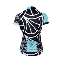 Doyenne Tomomi Teal Women's Sport Cut Cycling Jersey