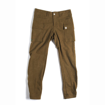 Ogunde Men's Cargo Pant Camel Tan - Small Only